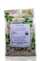 Capsulas di Aloe vera (Vegetariano) | Certificado Orgánico