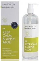 Gel de Aloe Vera (473 ml botella de bomba) 100% vegano y sin parabenos