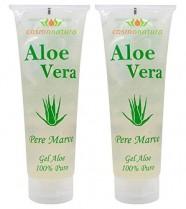 IB Cosmetics 40140 – Gel aloe vera 100%, 250 ml x 2 unidades