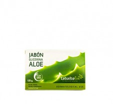 Jabón de Glicerina con Aloe Vera 125 gr Tabaibaloe