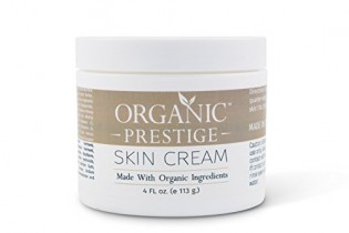 Luxury Organic Dry Skin Repair CREAM & Natural Facial Moisturizer (4 oz) aloe vera