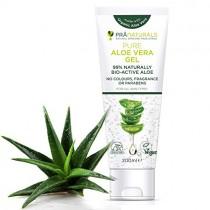 pranaturals Aloe Vera Gel 200 ml, crema hidratante de Natural Relajante & Nutritivo