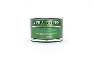 Vera Green Crema Terapéutica Aloe Vera Natural Cara y Cuerpo Psoriasis