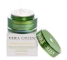 Vera Green Dermo Cosmética. Crema de Aloe Vera Facial de Día y Noche
